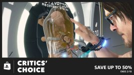 Critics' Choice Sale Delivers Savings up to 50% at PS Store