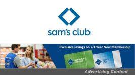 ET Deals: Get A 1-Year Sam's Club Membership w/ A 40 Percent Discount & A Free Gift