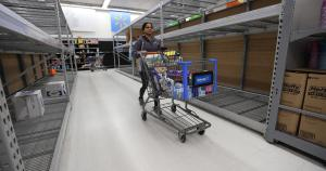 Stores see return of panic buying as COVID-19 shutdowns loom