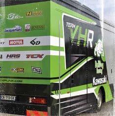 Le flocage de camion pour faire de votre véhicule un moyen de communication efficace