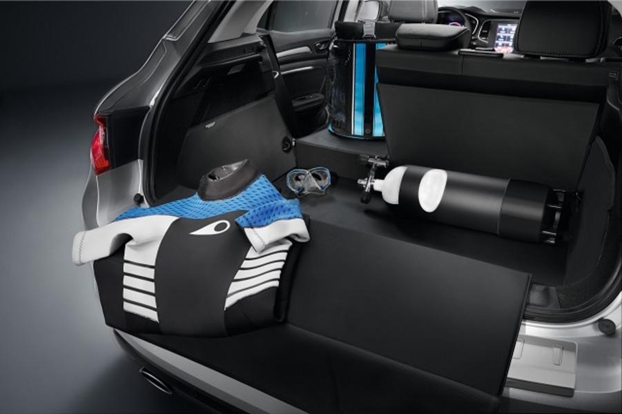 protection de coffre modulable easyflex accessoires renault