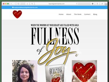 Fullness of Joy – Book Promotion Website