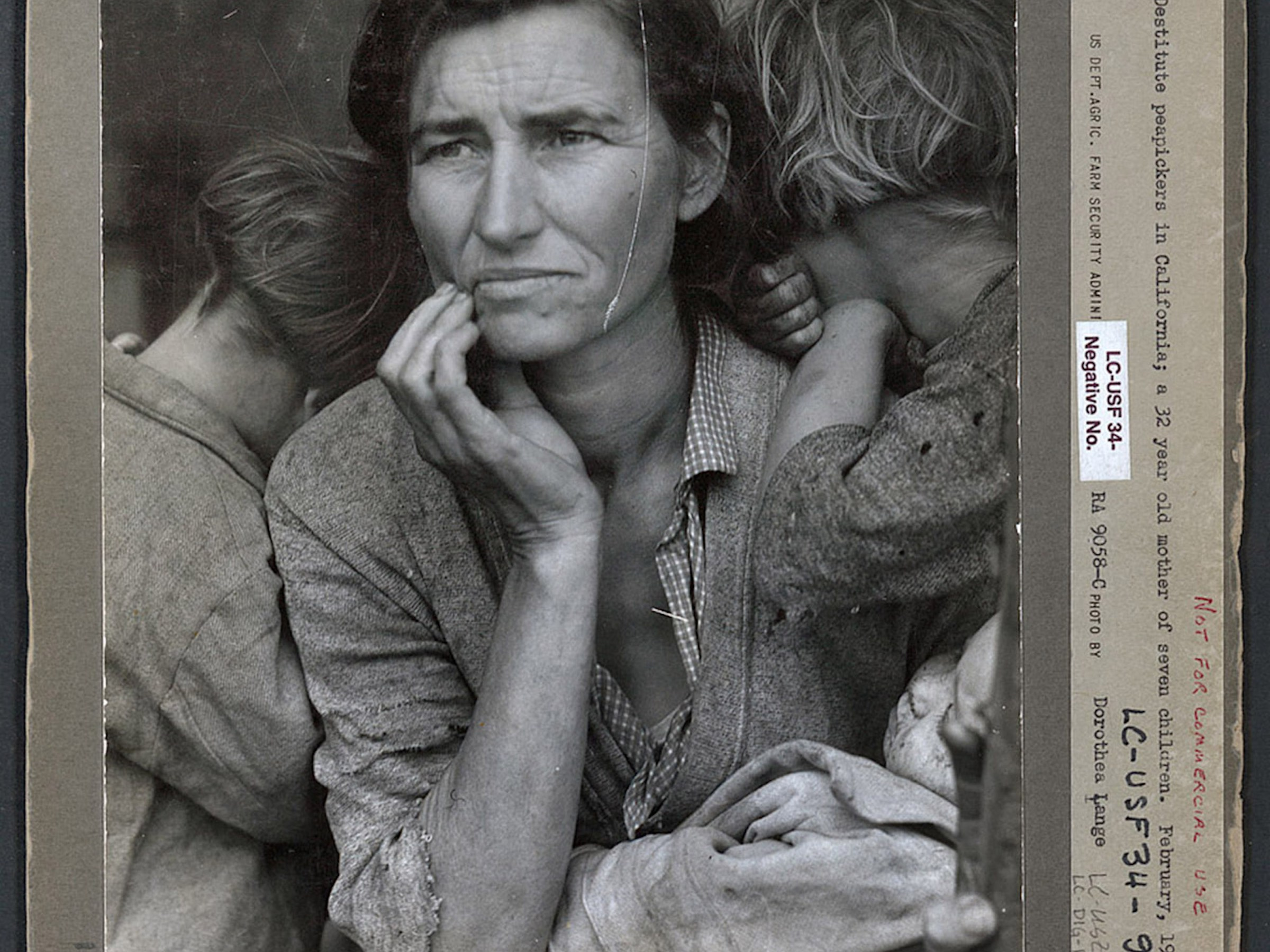 Migrant Mother, Dorothea Lange (1936)