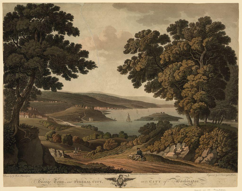 White House, 1790s
