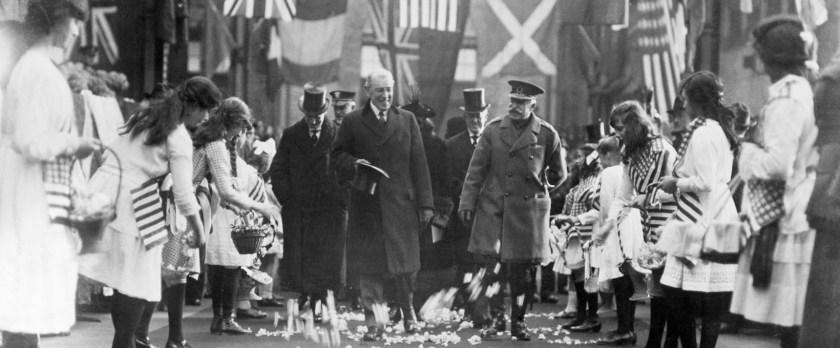 Woodrow Wilson in Paris