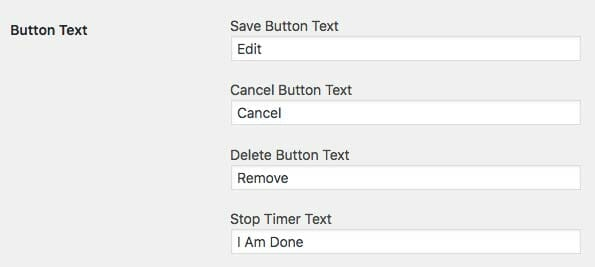 SCE Options Button Text