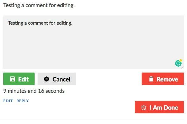 SCE Stop Timer Edit Screen