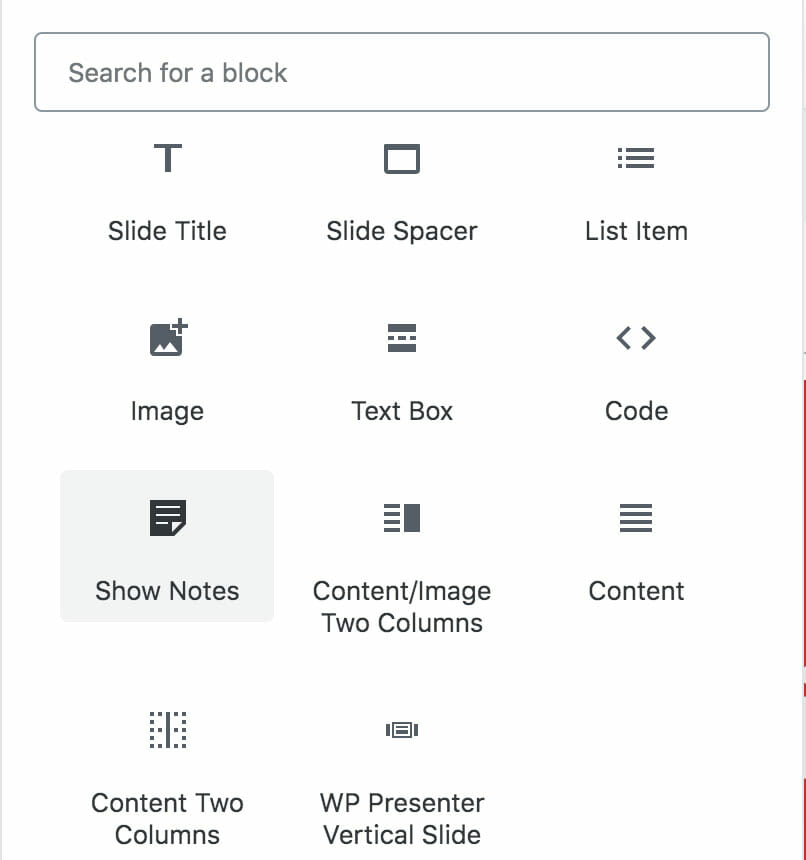 WP Presenter Blocks