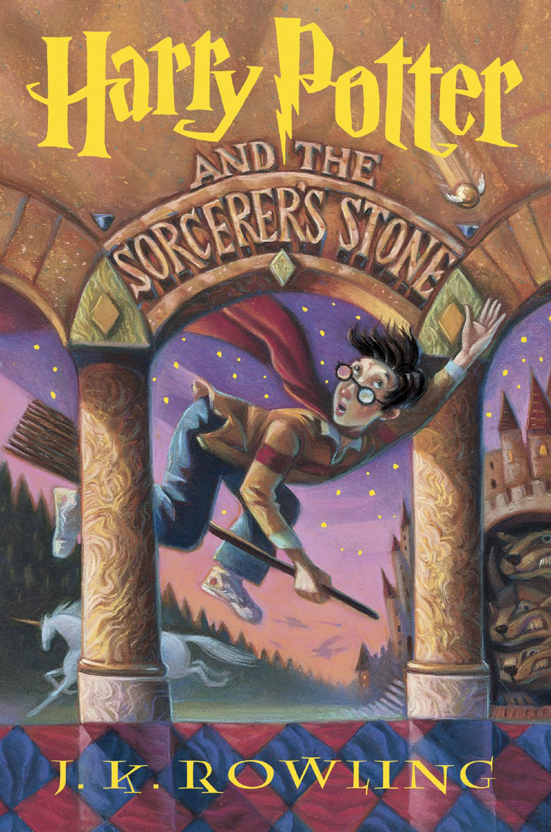 sorcerer's stone cover