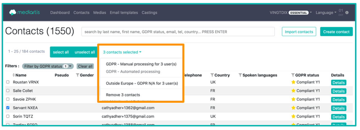 GDPR automated processing voice samples