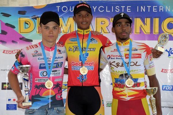 podium GP Sainte Luce2020