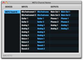 MOTU Track16