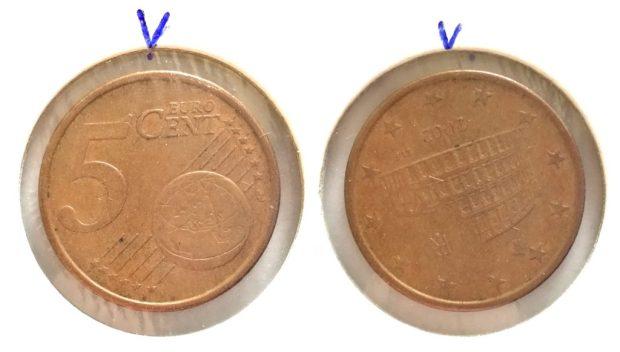 5 Cent Italie 2002