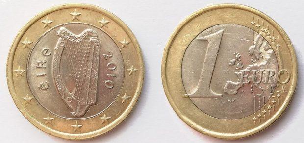 1 Euro Irlande 2010
