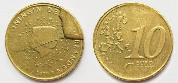 10 Cent Pays-Bas 2000