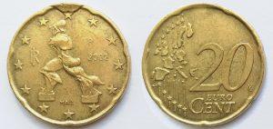 20 Cent Italie 2002