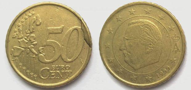 50 Cent Belgique 1999