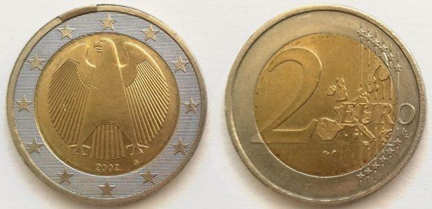 2 Euro Allemagne 2002G