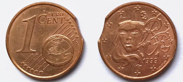 1 Cent France 1999