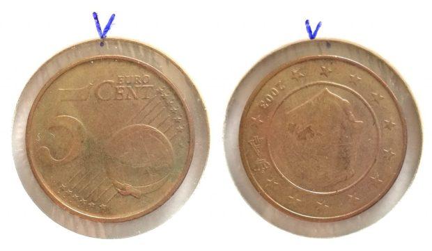 5 Cent Belgique 2003