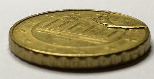 Coin affaissé