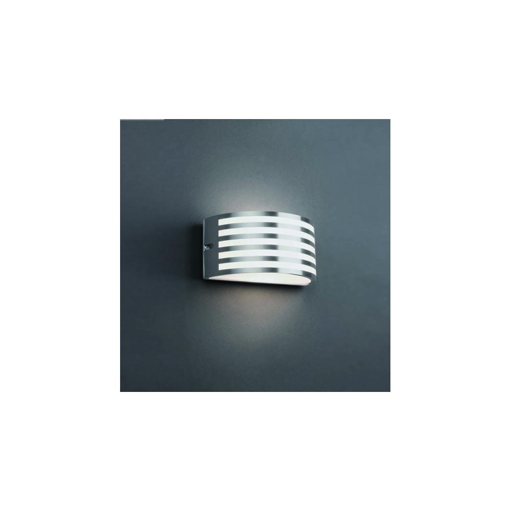 Applique Extrieur Design Nickel Mat Ou Noir Luminaire