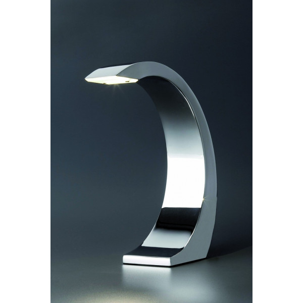 Finest Lampe Chrome Tactile Led Faro With Plafonnier