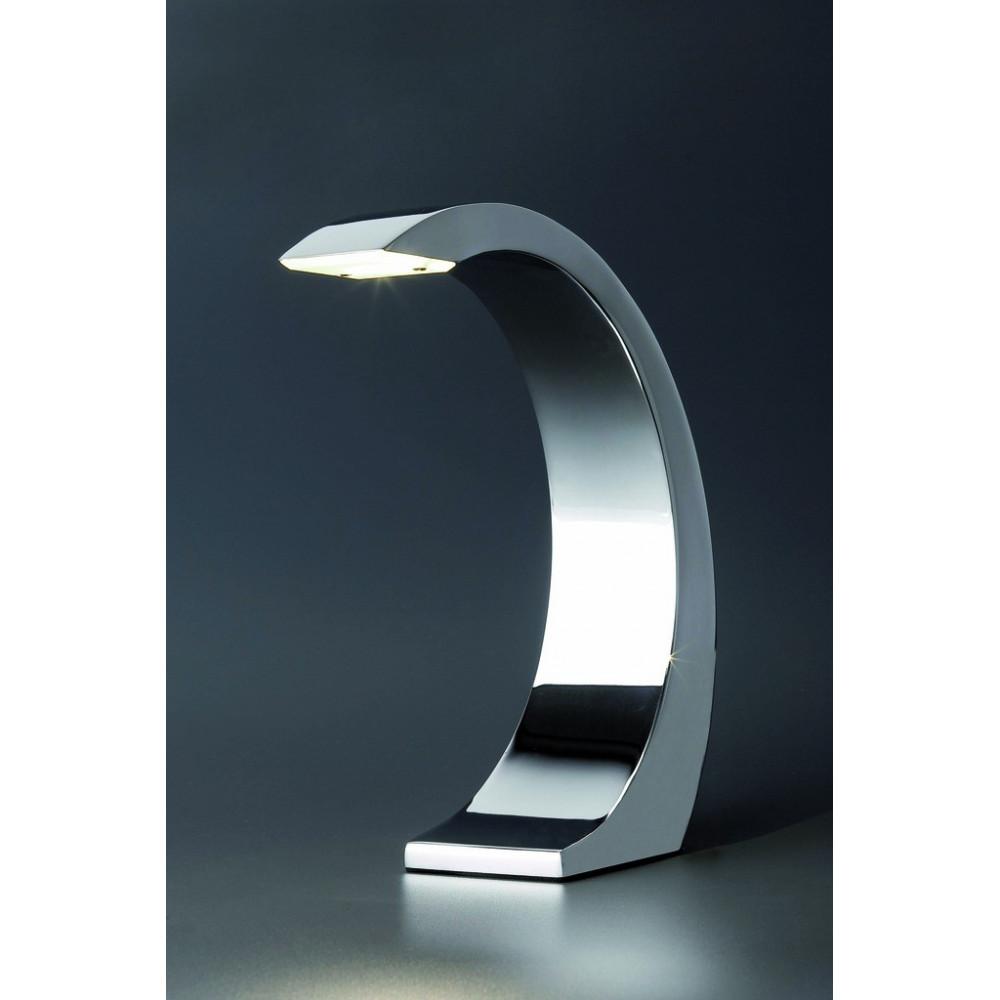 Lampe Chrome Tactile LED Design