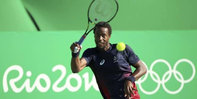 Tennis - Jeux Olympiques - Gaël Monfils est toujours dans la course. (Reuters)