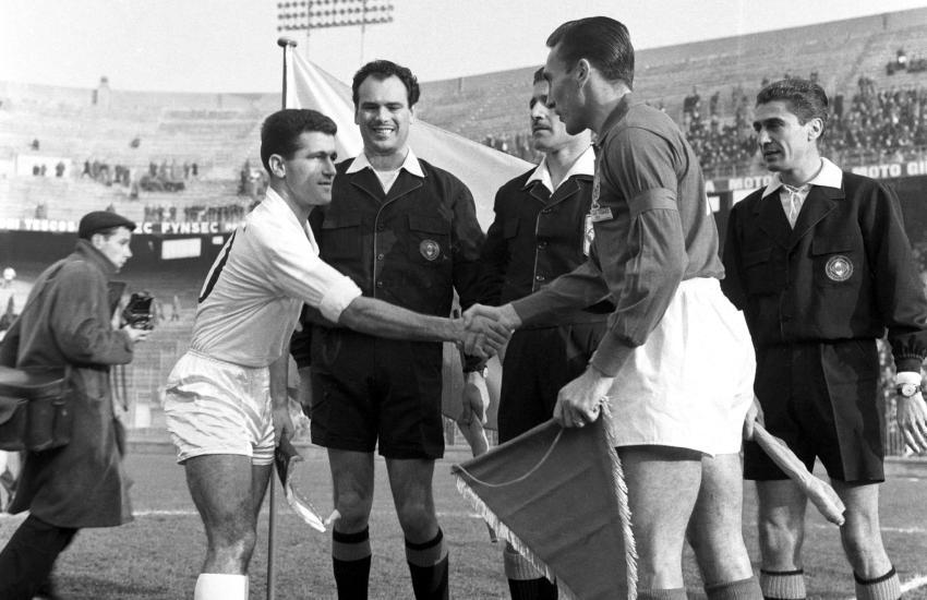 Francia vs. Bulgaria 1961 @ San Siro
