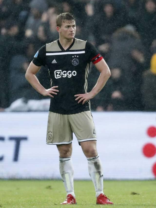 De Ligt, already captain of Ajax. (Sports Press)