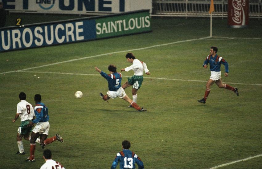 Kostadinov vs. Francia 1993 @ Parco dei Principi