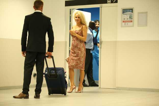 L'histoire avec Pamela Anderson s'est mal terminée. (A. Martin/L'Équipe)