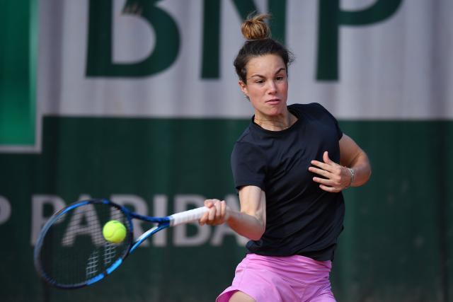 Lois Boisson s'est imposée au premier tour des qualifs de Roland-Garros. (A. Couvercelle/L'Équipe)