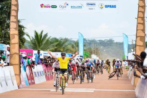Cyclisme sur route - Tropicale Amissa Bongo - Niccolo Bonifazio a remporté sa deuxième étape consécutive, ce mardi à Okondja ( - Presse) Tropicale