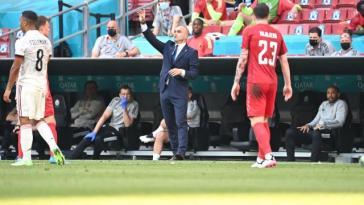 Roberto Martinez (Belgique) après la victoire contre le Danemark à l'Euro: «Les Danois nous ont mis beaucoup de pression»