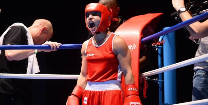 Sarah Ourahmoune qualifiée pour Rio. (Alexis Reau/L'Equipe)