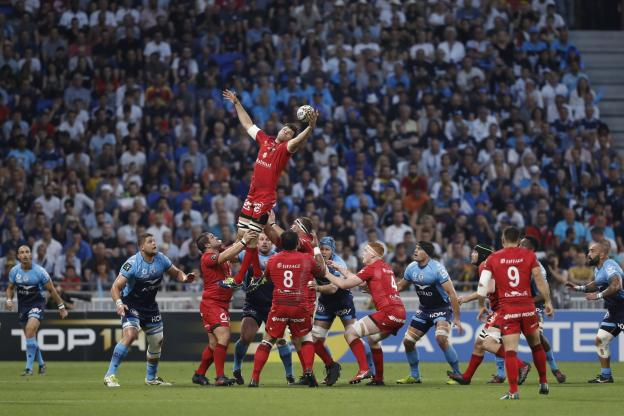 Rugby - Top 14 - One year after their semifinal, Lyon and Montpellier are in this year's barrage (A.Martin / L'Équipe)