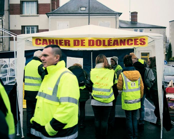 A welcome point centralizing the grievances of yellow vests before the big national debate next Tuesday.