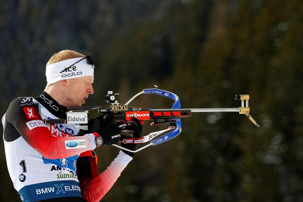 Biathlon: Johannes Bø, great snowman