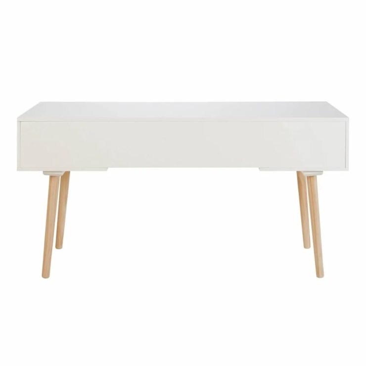 Schreibtisch Mit Schubladen Weiß 2021