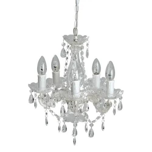 5 Light Droplet Chandelier Victorine Maisons Du Monde