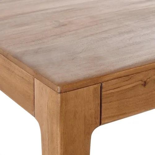 acacia vintage 6 8 seater dining table l 180 maisons du monde