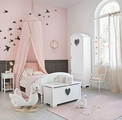 ciel de lit enfant rose maisons du monde