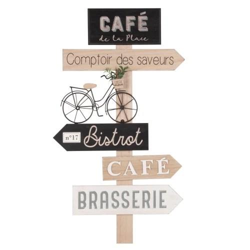 Deco Murale Directions 36x64 Cafe Maisons Du Monde