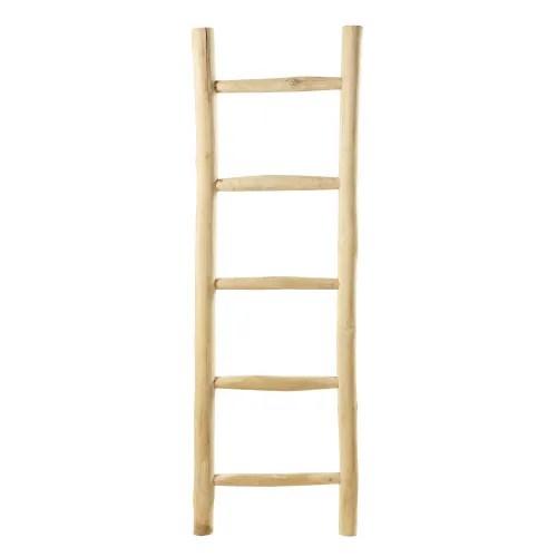 Decorative Teak Ladder Malmo Maisons Du Monde