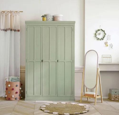 dressing 3 portes vert maisons du monde