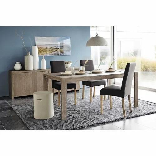 extendible 6 8 seater dining table l160 210 maisons du monde