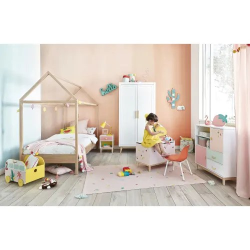 lit cabane enfant 90x190 en pin maisons du monde