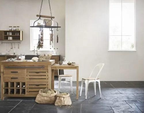 meuble haut de cuisine en pin recycle effet vieilli maisons du monde